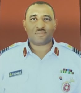 Group Captain HALLIRU BADAMASI